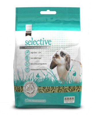 Surpreme Science selective <BR>Konijn adult 1,5 kg